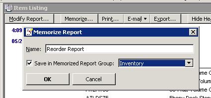 Memorize Report
